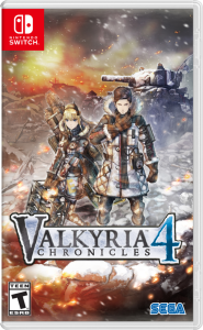 игра Valkyria Chronicles 4 (Nintendo Switch)