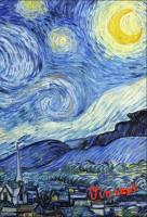 Подарок Обложка для паспорта. Ван Гог. Звёздная ночь (Арте)