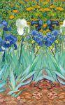 фото Обложка пластиковая универсальная. Ван Гог. Ирисы (маленький формат) (Арте) #3