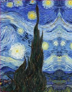 фото страниц Обложка пластиковая универсальная. Ван Гог. Звёздная ночь (большой формат) (Арте) #3