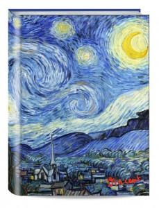 фото страниц Обложка пластиковая универсальная. Ван Гог. Звёздная ночь (большой формат) (Арте) #2