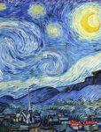 Книга Обложка пластиковая универсальная. Ван Гог. Звёздная ночь (большой формат) (Арте)