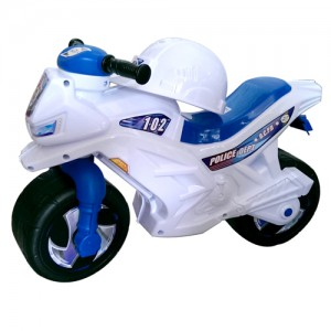 Детский мотоцикл каталка Орион белый (501 B.2)