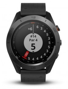 Часы для гольфа Garmin Approach S60 Black Premium  (010-01702-02)