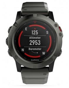 Смарт-часы Garmin Fenix 5S Sapphire - Slate grey with metal band (010-01733-03)