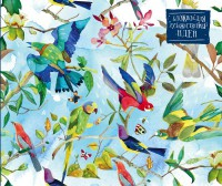 Книга Блокнот для художественных идей 'Райские птицы'