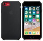 Чехол для смартфона Apple iPhone 8 / 7 Silicone Case - Black (MQGK2)