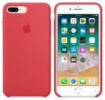 Чехол для смартфона Apple iPhone 8 Plus / 7 Plus Silicone Case - Red Raspberry (MRFW2)