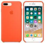Чехол для смартфона Apple iPhone 8 Plus / 7 Plus Silicone Case - Spicy Orange (MR6C2)