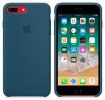 Чехол для смартфона Apple iPhone 8 Plus / 7 Plus Silicone Case - Cosmos Blue (MR6D2)
