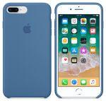 Чехол для смартфона Apple iPhone 8 Plus / 7 Plus Silicone Case - Denim Blue (MRFX2)