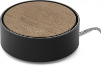 Сетевое зарядное устройство Native Union Eclipse, 3 USB, 7.8A, чёрное, дерево (EC-BLK-WD-EU)