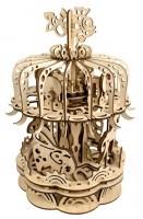 Механический конструктор из дерева Mr.Playwood 'Карусель' (10011)