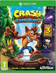 игра Crash Bandicoot N. Sane Trilogy Xbox One