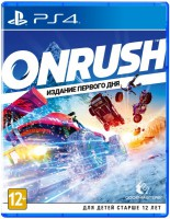игра Onrush Day One Edition PS4
