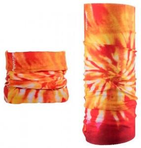 Многофункциональная повязка (Бафф) Naturehike Magic headscarf  оранжевый (NH17T020-J)