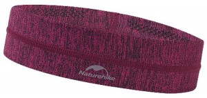 Повязка на голову (Бафф) Naturehike  Outdoor Sport Sweatband красный (NH17Z020-D)