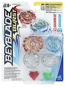 Игровой набор Hasbro Beyblade Burst: волчки 'Gaianon G2 Гаянон' и 'Doomscizor Думсайзор' (B9491/C2358)