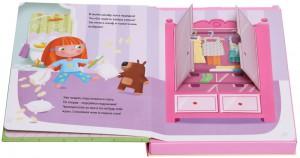 фото страниц Кукольный домик (книга + 3D модель для сборки) #3