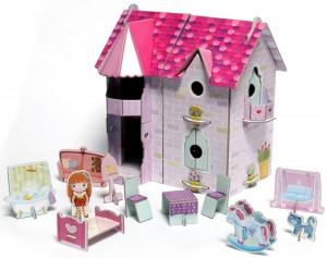 фото страниц Кукольный домик (книга + 3D модель для сборки) #7