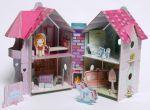 фото страниц Кукольный домик (книга + 3D модель для сборки) #6