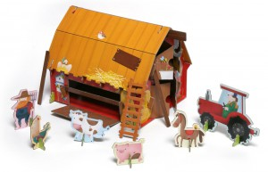 фото страниц Ферма (книга + 3D модель для сборки) #5