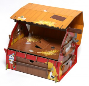 фото страниц Ферма (книга + 3D модель для сборки) #4