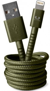 фото Кабель Fresh 'N Rebel Fabriq Lightning Cable 1,5m Army (2LCF150AR) #4