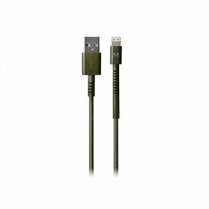 фото Кабель Fresh 'N Rebel Fabriq Lightning Cable 1,5m Army (2LCF150AR) #2