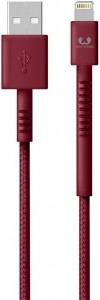Кабель Fresh 'N Rebel Fabriq Lightning Cable 1,5m Ruby (2LCF150RU)