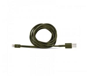 фото Кабель Fresh 'N Rebel Fabriq Lightning Cable 3m Army (2LCF300AR) #3