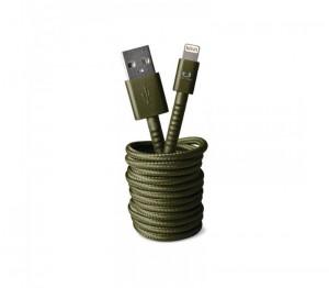 Кабель Fresh 'N Rebel Fabriq Lightning Cable 3m Army (2LCF300AR)