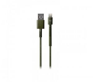 фото Кабель Fresh 'N Rebel Fabriq Lightning Cable 3m Army (2LCF300AR) #2