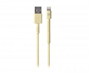 Кабель Fresh 'N Rebel Fabriq Lightning Cable 3m Buttercup (2LCF300BC)