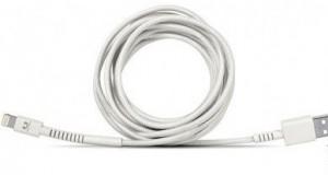 фото Кабель Fresh 'N Rebel Fabriq Lightning Cable 3m Cloud (2LCF300CL) #2