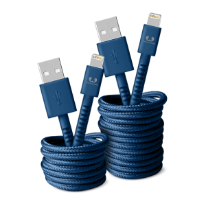 фото Кабель Fresh 'N Rebel Fabriq Lightning Cable 3m Indigo (2LCF300IN) #3