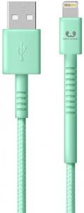 Кабель Fresh 'N Rebel Fabriq Lightning Cable 3m Peppermint (2LCF300PT)
