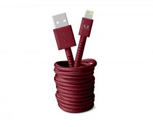фото Кабель Fresh 'N Rebel Fabriq Lightning Cable 3m Ruby (2LCF300RU) #3