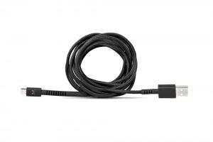 фото Кабель Fresh 'N Rebel Fabriq Micro USB Cable 1,5m Concrete (2UCF150CC) #3