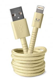 фото Кабель Fresh 'N Rebel Fabriq Lightning Cable 1,5m Buttercup (2LCF150BC) #2