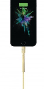 фото Кабель Fresh 'N Rebel Fabriq Lightning Cable 1,5m Buttercup (2LCF150BC) #3