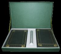 Подарок Подарочный набор. Ежедневник + визитница + ручка (в коробке)
