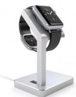 Подарок Подставка Satechi Aluminum Apple Watch Charging Stand Silver (ST-AWSS)