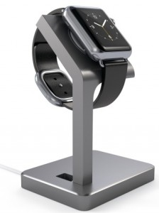 Подарок Подставка Satechi Aluminum Apple Watch Charging Stand Space Gray (ST-AWSM)