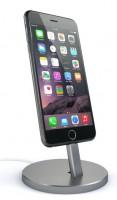 Подарок Подставка Satechi Aluminum Desktop Charging Stand Space Gray for iPhone (ST-AIPDM)