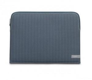 Подарок Ручной конверт для ноутбука Moshi Pluma Designer Laptop Sleeve Denim Blue 13' (99MO104531)