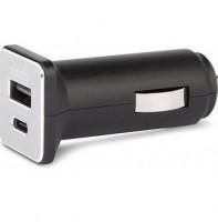 Подарок USB адаптер (переходник) Moshi USB-C Car Charger Black (99MO022071)