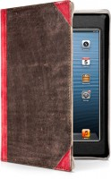 Чехол-книжка Twelvesouth Leather Case BookBook Vibrant Red for iPad mini 3/iPad mini 2/iPad mini (TWS-12-1236)