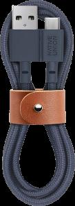 фото Кабель переходник Native Union Belt Cable USB-A to USB-C Marine (1.2 m) (BELT-KV-AC-MAR) #2