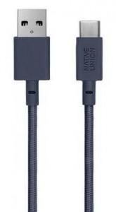Кабель переходник Native Union Belt Cable USB-A to USB-C Marine (1.2 m) (BELT-KV-AC-MAR)